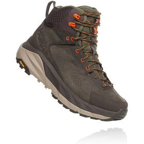 Hoka One One Sky Kaha Hiking Shoes Herre black olive/green